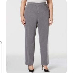 NEW Gray Dress Pants plus Sz 20W Tall (H157)